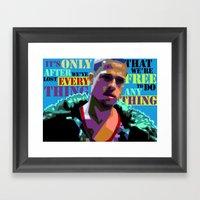 Fightclub 2 Framed Art Print