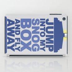 Snog Box (Tardis) iPad Case