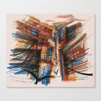 The City Pt. 3 Canvas Print