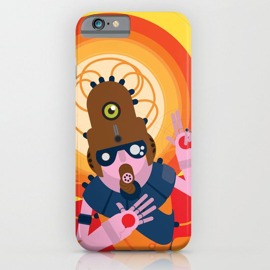The inscrutable Lord ov Data iPhone & iPod Case