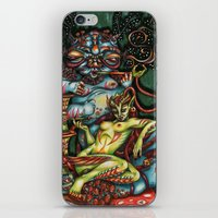Mentalice And The Caterp… iPhone & iPod Skin