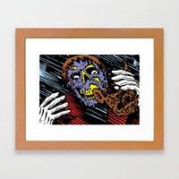 Two-Face Framed Art Print