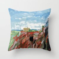 Cerro del Hierro Throw Pillow