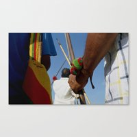Katchin (Strength) Canvas Print
