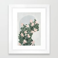 She's Changing Framed Art Print