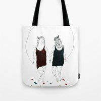 Love hurts... We prefer to step on Lego pieces Tote Bag
