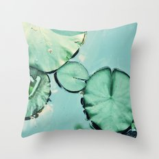 Be water Throw Pillow