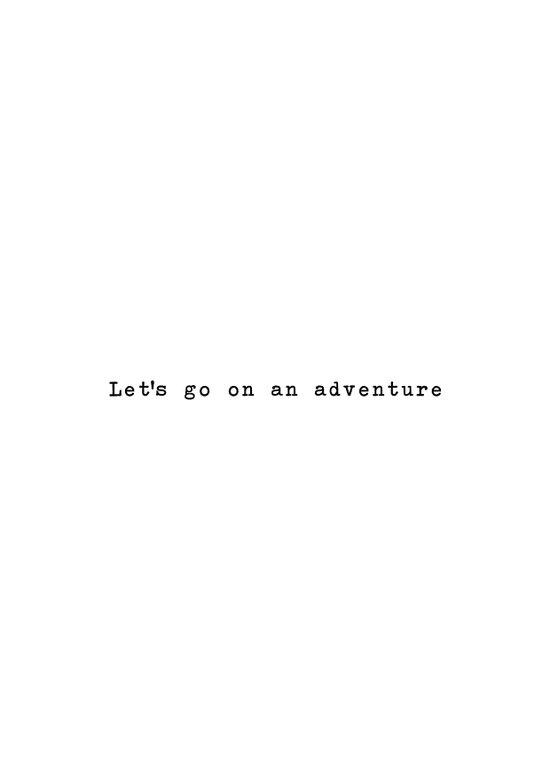 Adventure [White] Art Print
