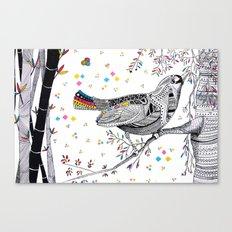 CHINA PRINT Canvas Print