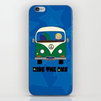 Ride the Bus - Boy iPhone & iPod Skin