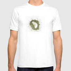 ArticFox Mens Fitted Tee White SMALL