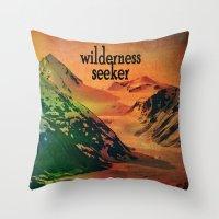 Wilderness Seeker Throw Pillow