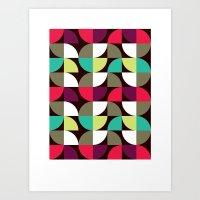Roundel (2009) Art Print