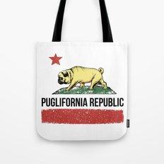 Puglifornia Republic Tote Bag