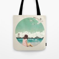 Calm Ocean Tote Bag