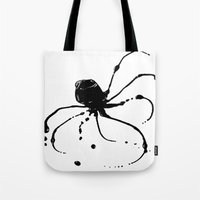 Octopus Ink Tote Bag