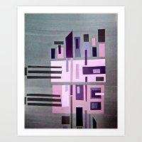 Cityviolet Art Print