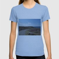 The Long Road Womens Fitted Tee Athletic Blue SMALL