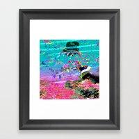 Babes Framed Art Print