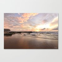 Golden hours Canvas Print