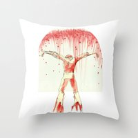 From The Water Throw Pillow