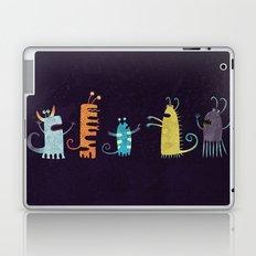 Secretly Vegetarian Monsters Laptop & iPad Skin