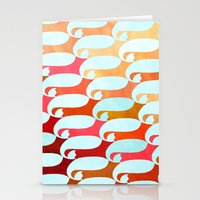 Blue Whale & Red Fox Stationery Cards