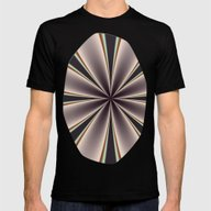 Fractal Pinch In BMAP02 Mens Fitted Tee Black MEDIUM