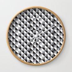 Typoptical Illusion A no.3 Wall Clock
