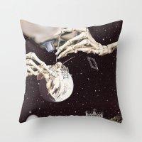 Cosmic Dead Throw Pillow