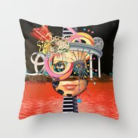 All About Perspective Throw Pillow