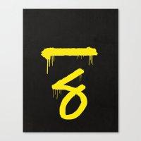 No. 7. Dead Man Canvas Print