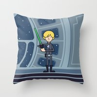 EP6 : Luke Throw Pillow