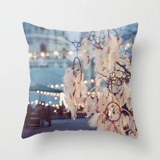 Dreamcatcher. Throw Pillow