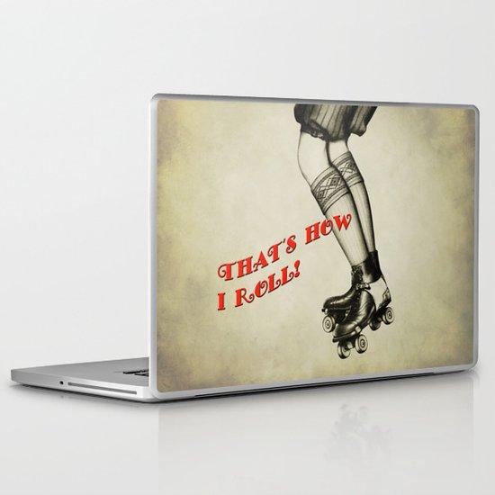 Old School Derby Laptop & iPad Skin