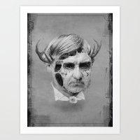 The Melting Man Art Print