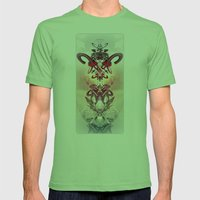 Harbinger Of Hope Mens Fitted Tee Grass SMALL