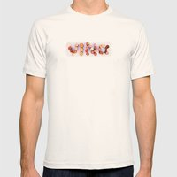 Vino Mens Fitted Tee Natural SMALL