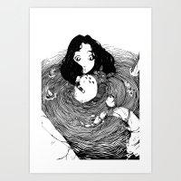 japan Art Prints featuring Japan by Ben BASSO