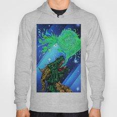 green dragon fire artist Hoody