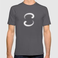S Like S Mens Fitted Tee Asphalt SMALL