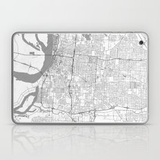 Memphis Map Line Laptop & iPad Skin