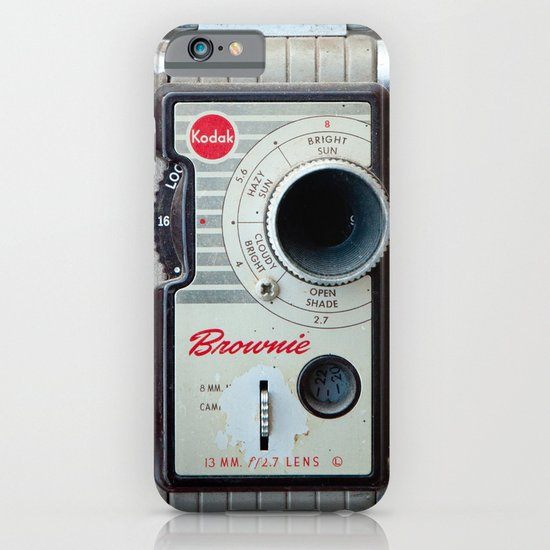 Brownie 8mm Movie Camera iPhone & iPod Case