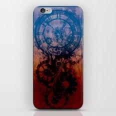 Steampunk clock iPhone & iPod Skin