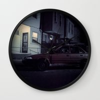 Red Camry Wall Clock