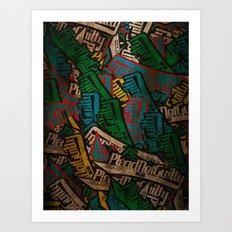 Slapbox Art Print