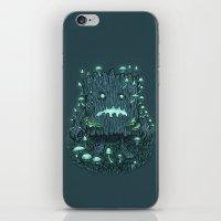 The Fungus Log iPhone & iPod Skin