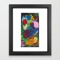 One Board (#6) Framed Art Print
