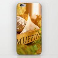 Muffins, Fresh And Warm,… iPhone & iPod Skin