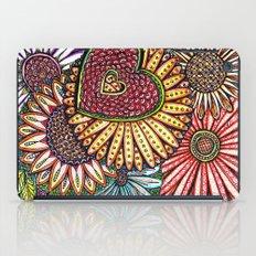I Love Flowers iPad Case